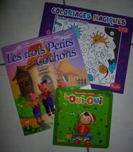 Les cadeaux reçus par les enfants de maternelle