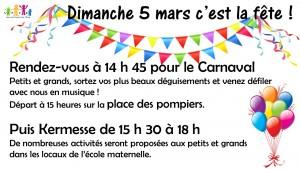 affiche A4 carnaval et kermesse050317