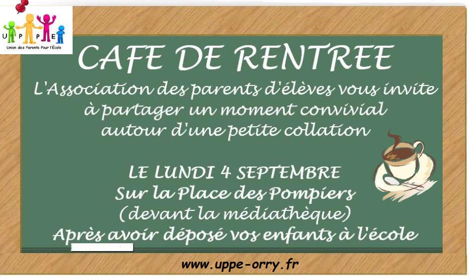 Café de rentrée i