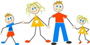 famille dessin