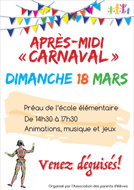 Affiche Carnaval 2018